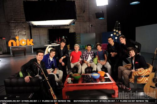 Invisible Moments Big Time Rush & One Direction